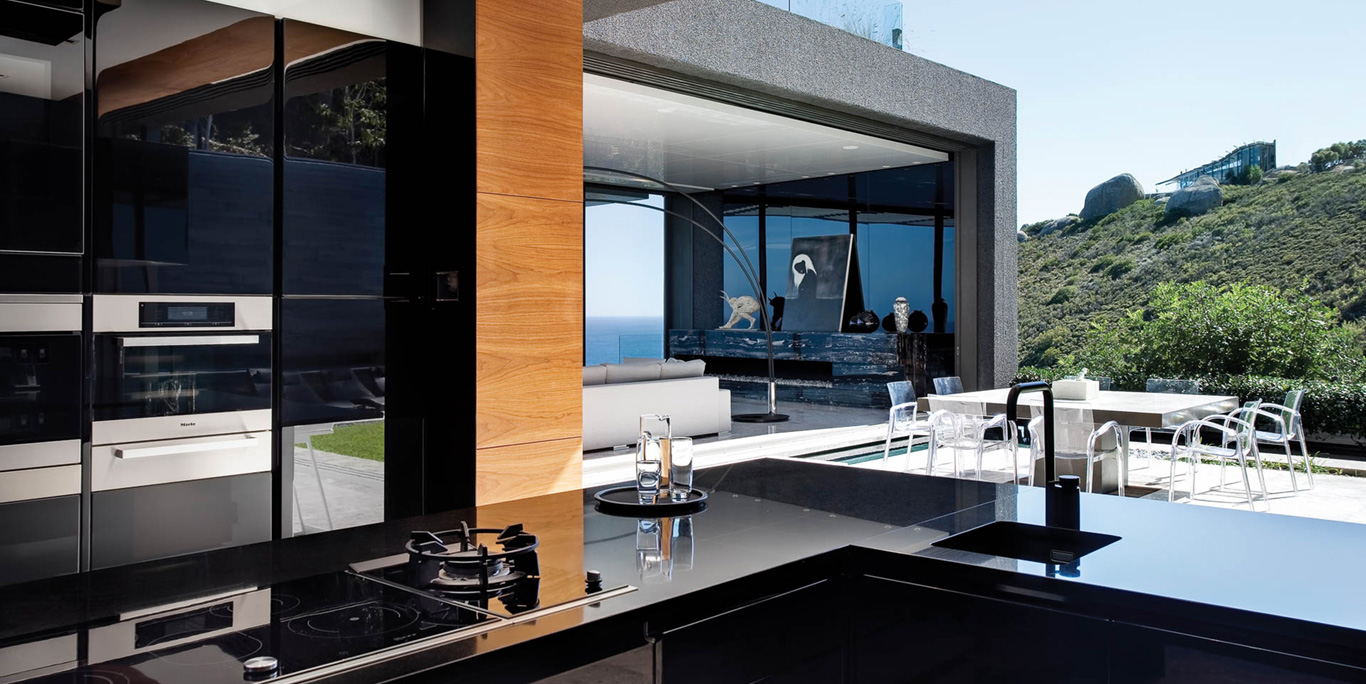 Cape Town Villa Open Kitchen Alfresco Dining