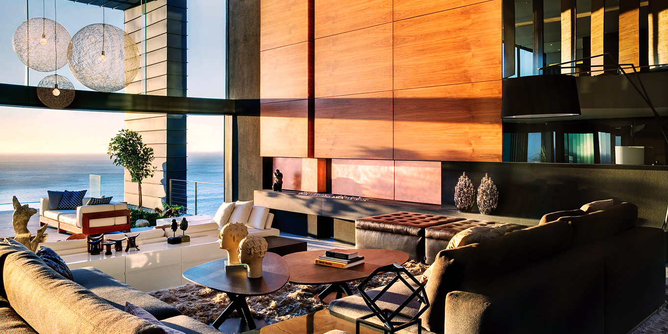 Clifton Luxury Villa Living Area