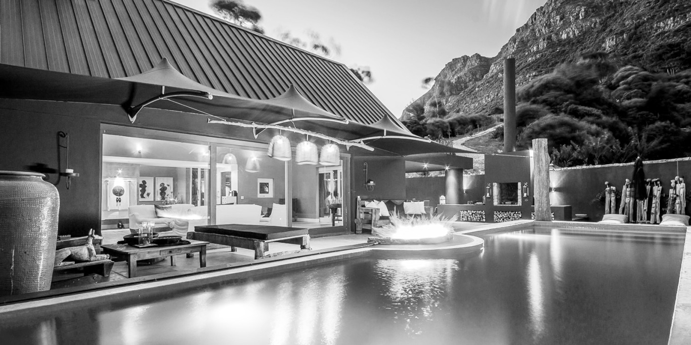 Luxury Cape Town Villa Swimming Pool