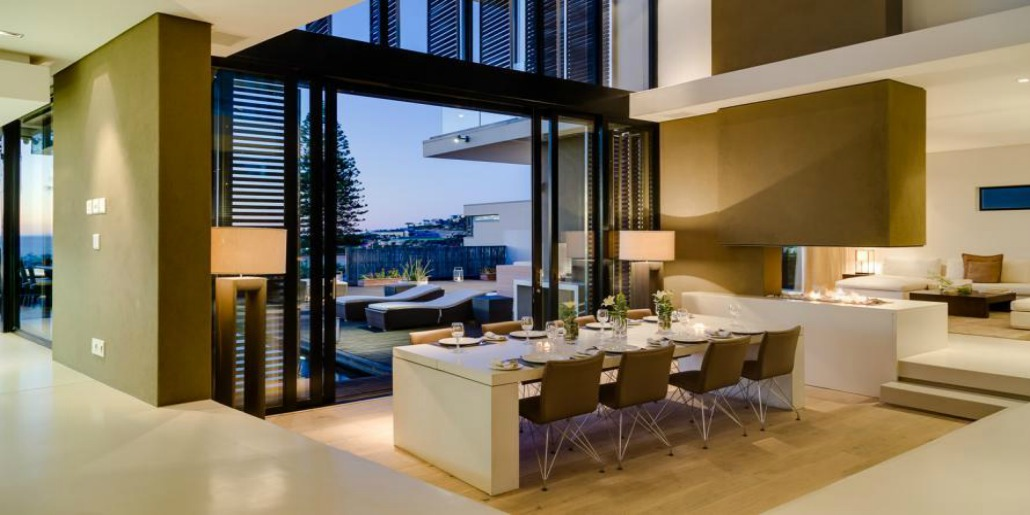 Serenity Indoor Dining Area