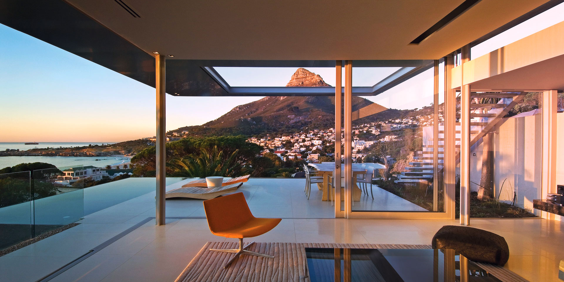 Bond House View of Lions Head in Cape Town