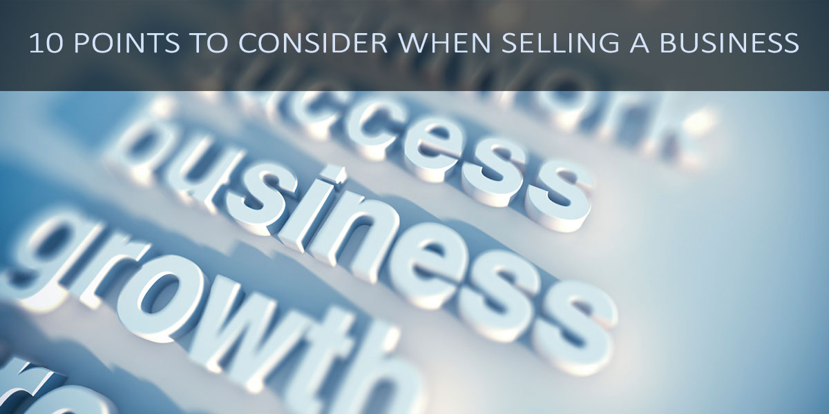 10-points-to-consider-when-selling-a-business