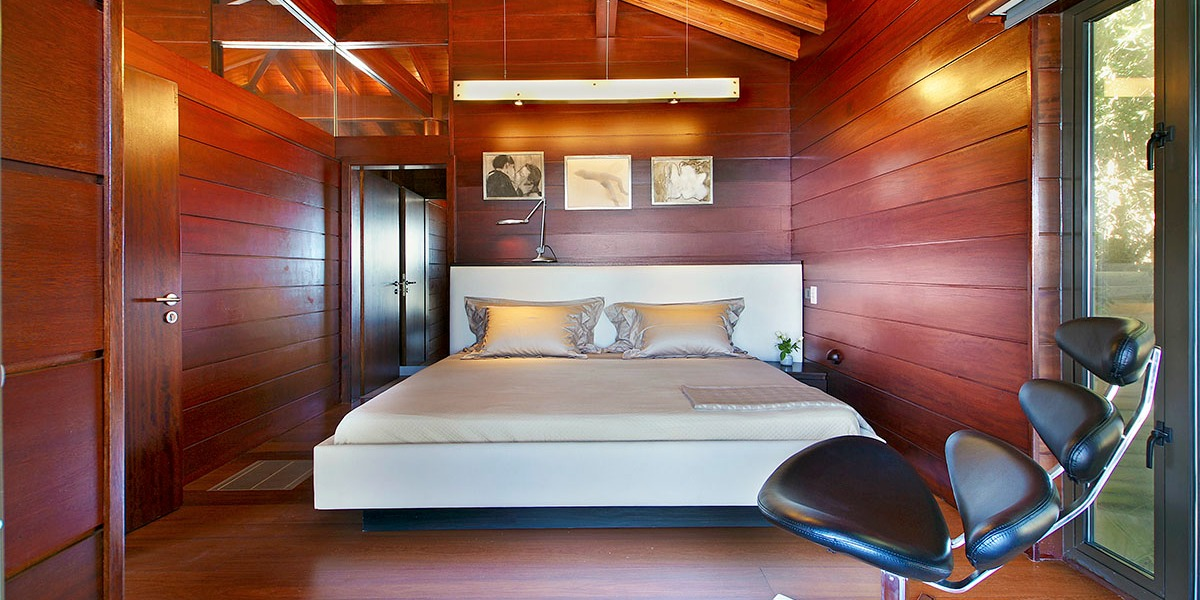 Clifton Villa in Cape Town bedroom