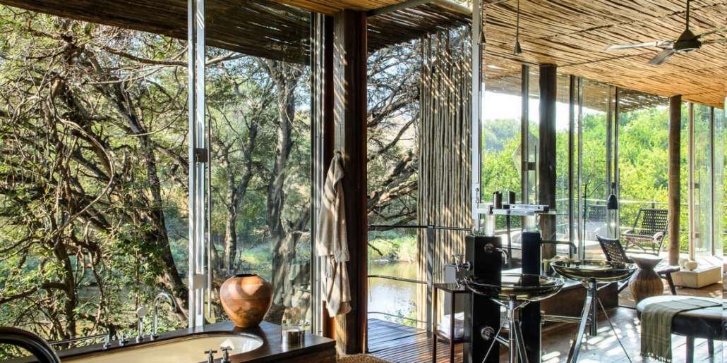 Living areas Singita Sweni Lodge