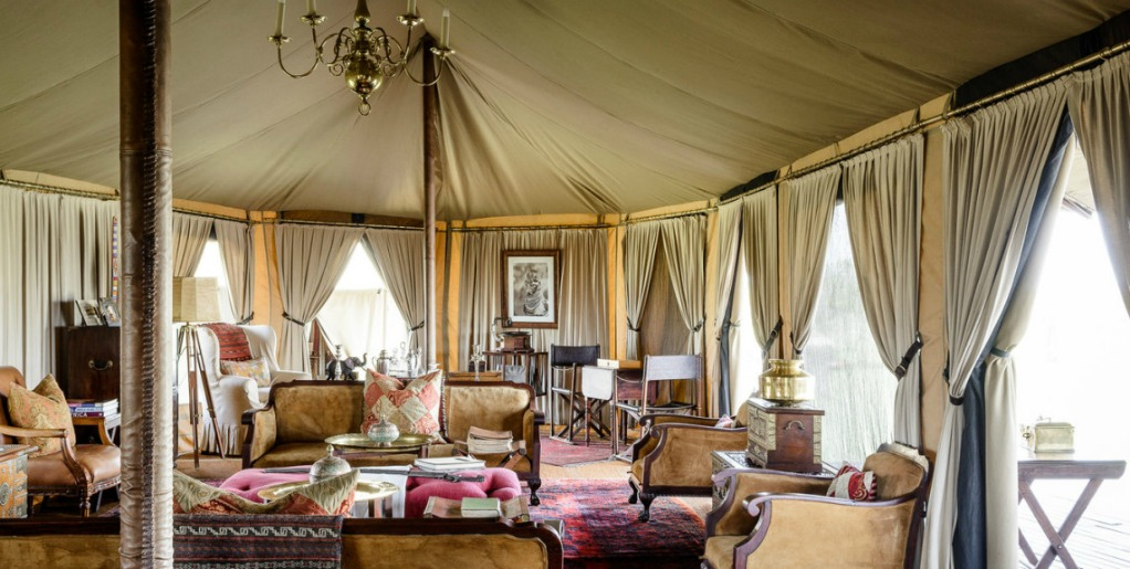 Tented Camp Singita Sabora