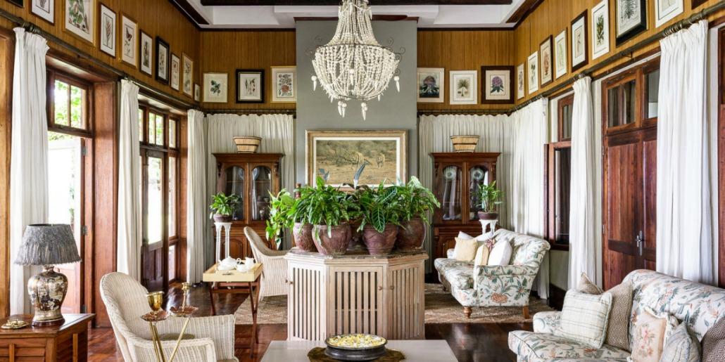 Singita Sasakwa Lodge Outdoors indoors