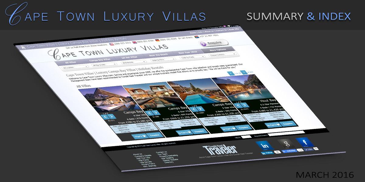 Cape-Town-Luxury-Villas---Summary-&-Index