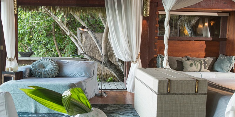 Luxurious Bedroom at North Island Presidential Villas