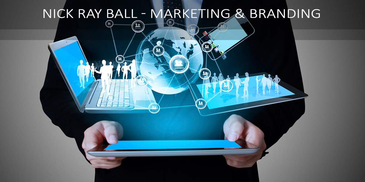 Nick Ray Ball - Marketing & Branding