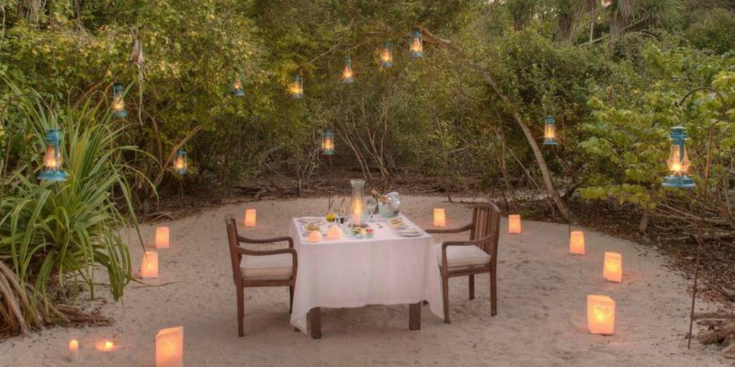 Dinner Mnemba Island