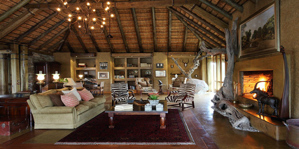 Camp Jabulani living areas