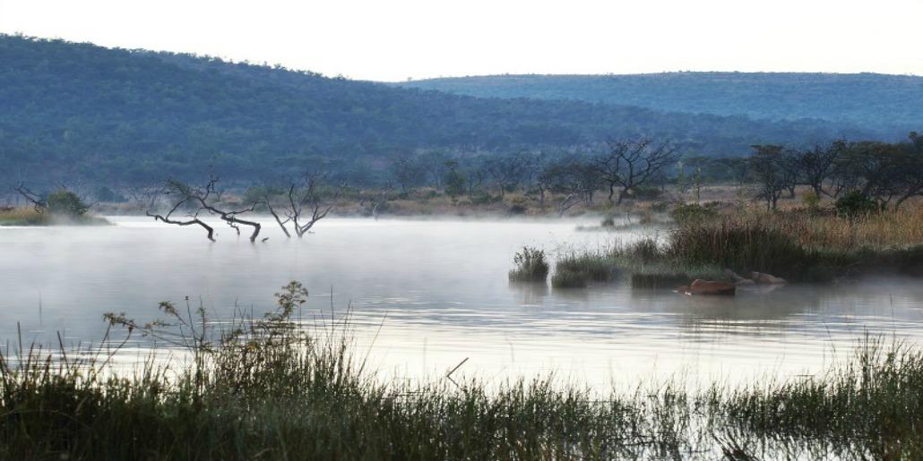 man-made dam southern Africa