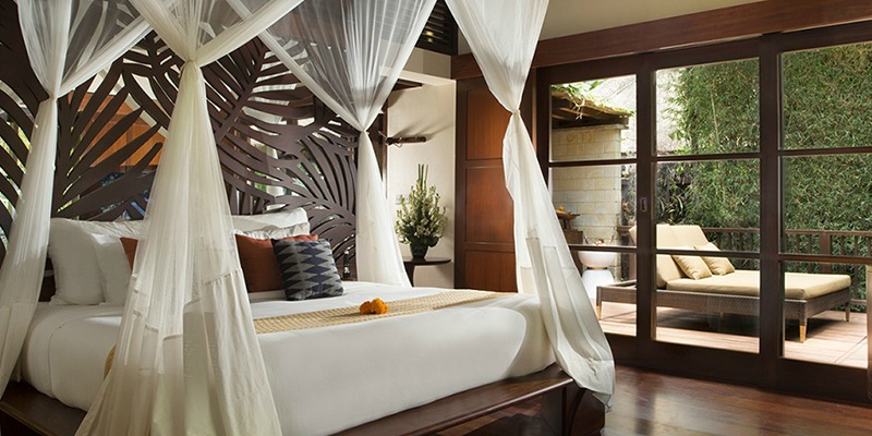 Luxurious Bedroom at Hanging Gardens of Bali