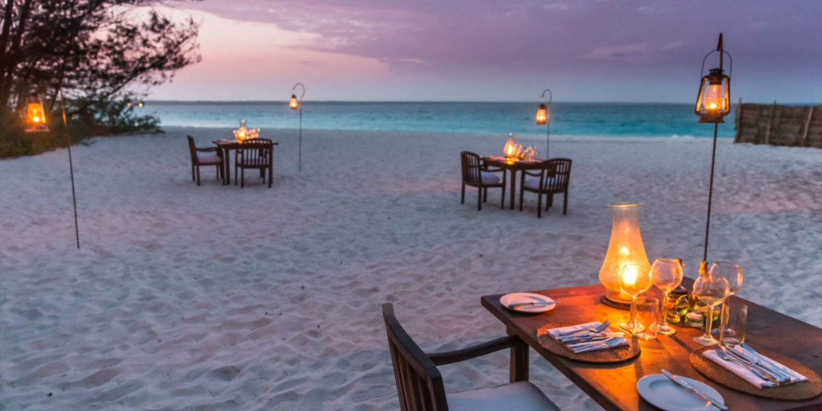 Romantic Dinners with a Spectacular Ocean View