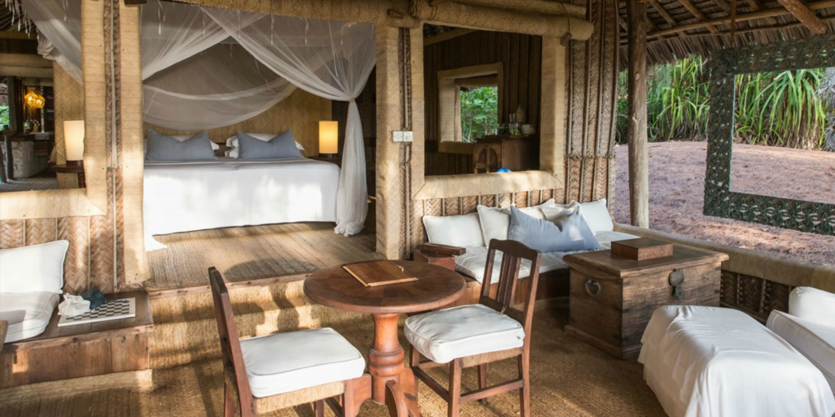 Rustic Luxury Villas at Mnemba Island