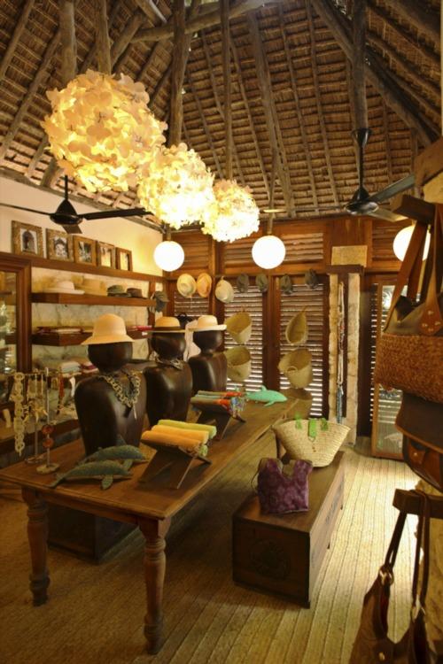 Interiors at Mnemba Island