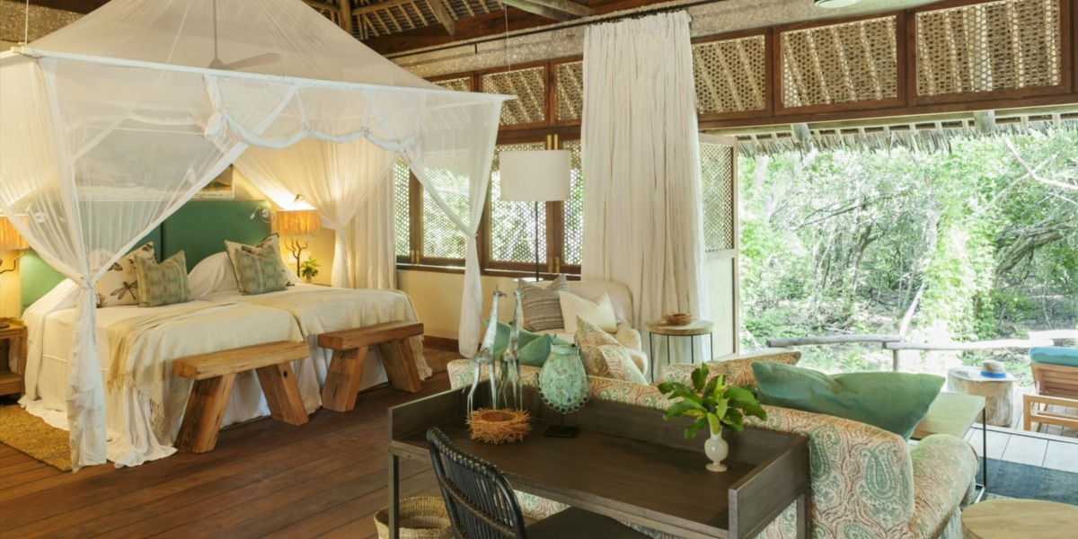 Luxurious Bedroom at Vamizi Island
