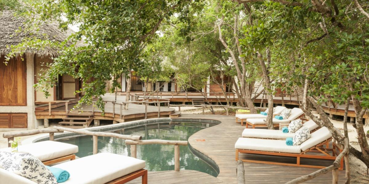 Spectacular Outdoor Pool in Vamizi Island