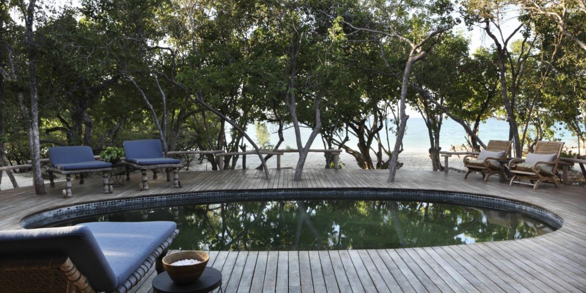 Luxury Swimming Pool on the Island