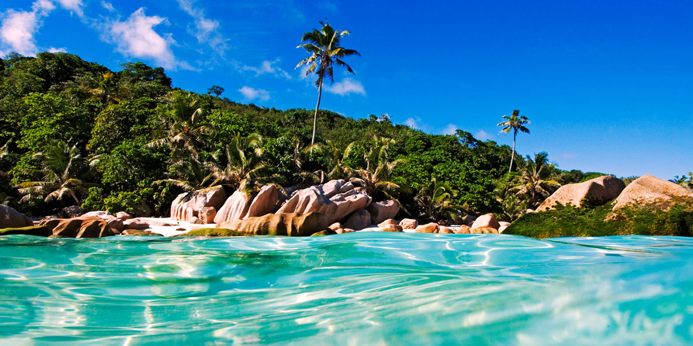 Island Nature Reserve in Seychelles
