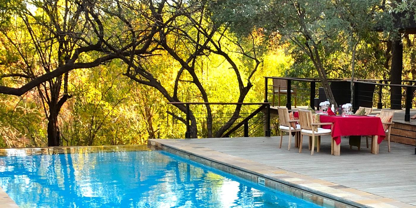 Spectacular Safari Villa Infinity Pool