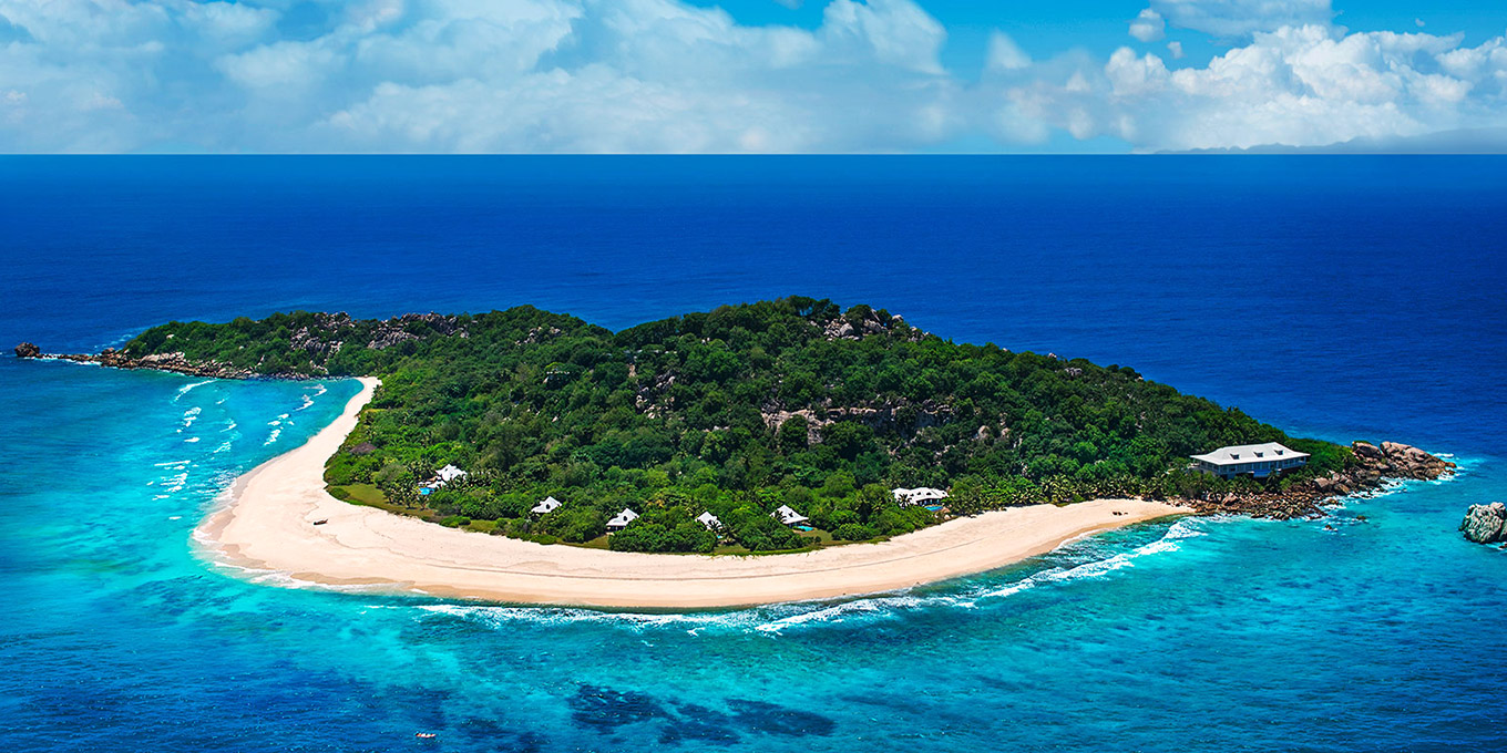 Cousine Island in Seychelles
