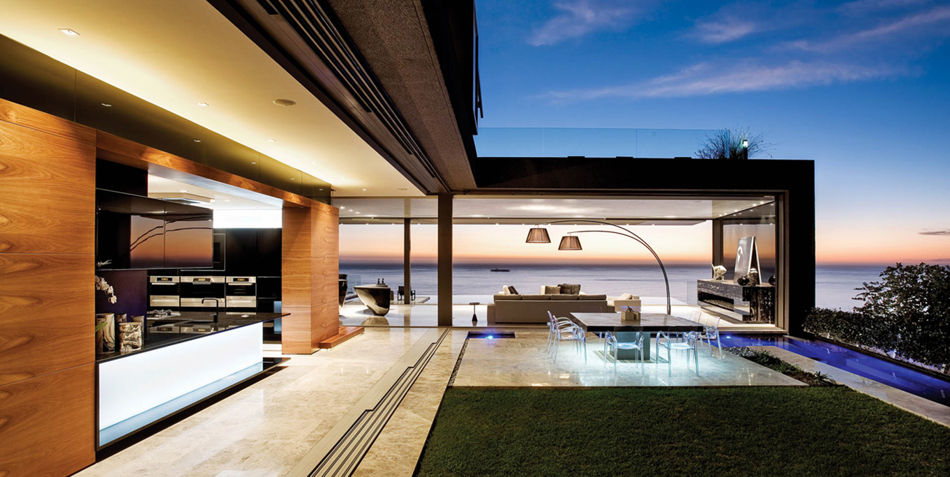 Living Areas with a Spectacular View
