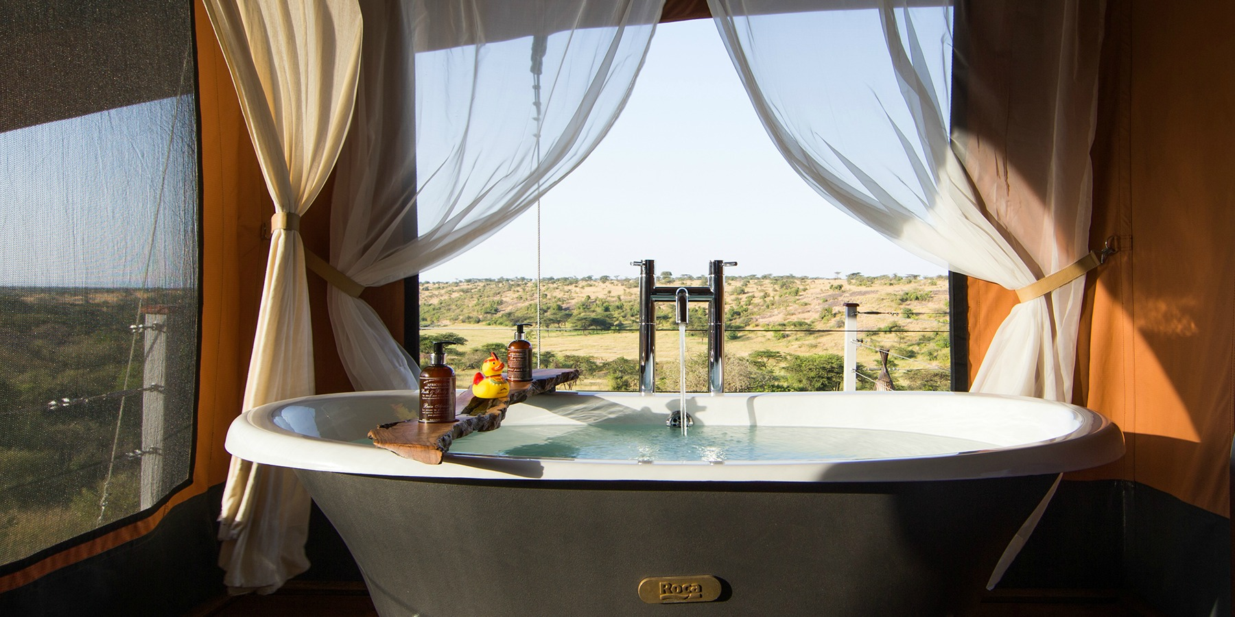 Tented Suite Bathtub View