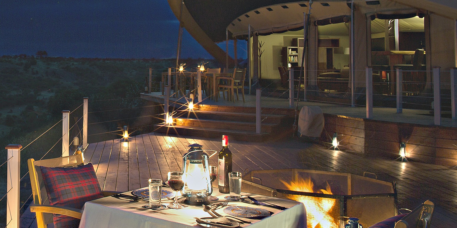 Alfresco Dining at Mhali Mzuri