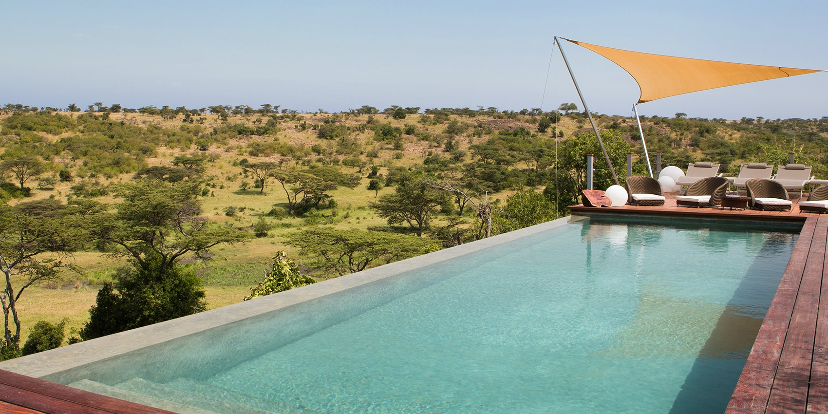 Infinity Pool in the African Bush