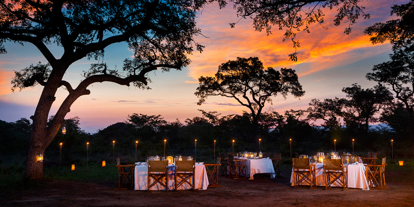 Ulusaba Braai Under the African Sky
