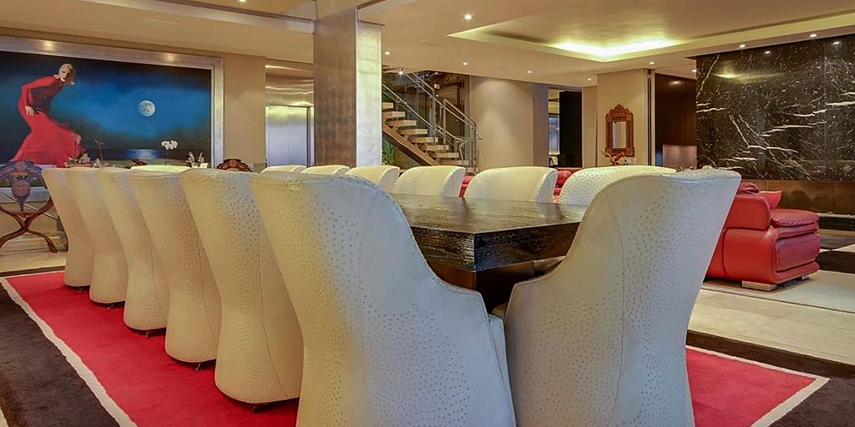 Dining area at Moondance Villa