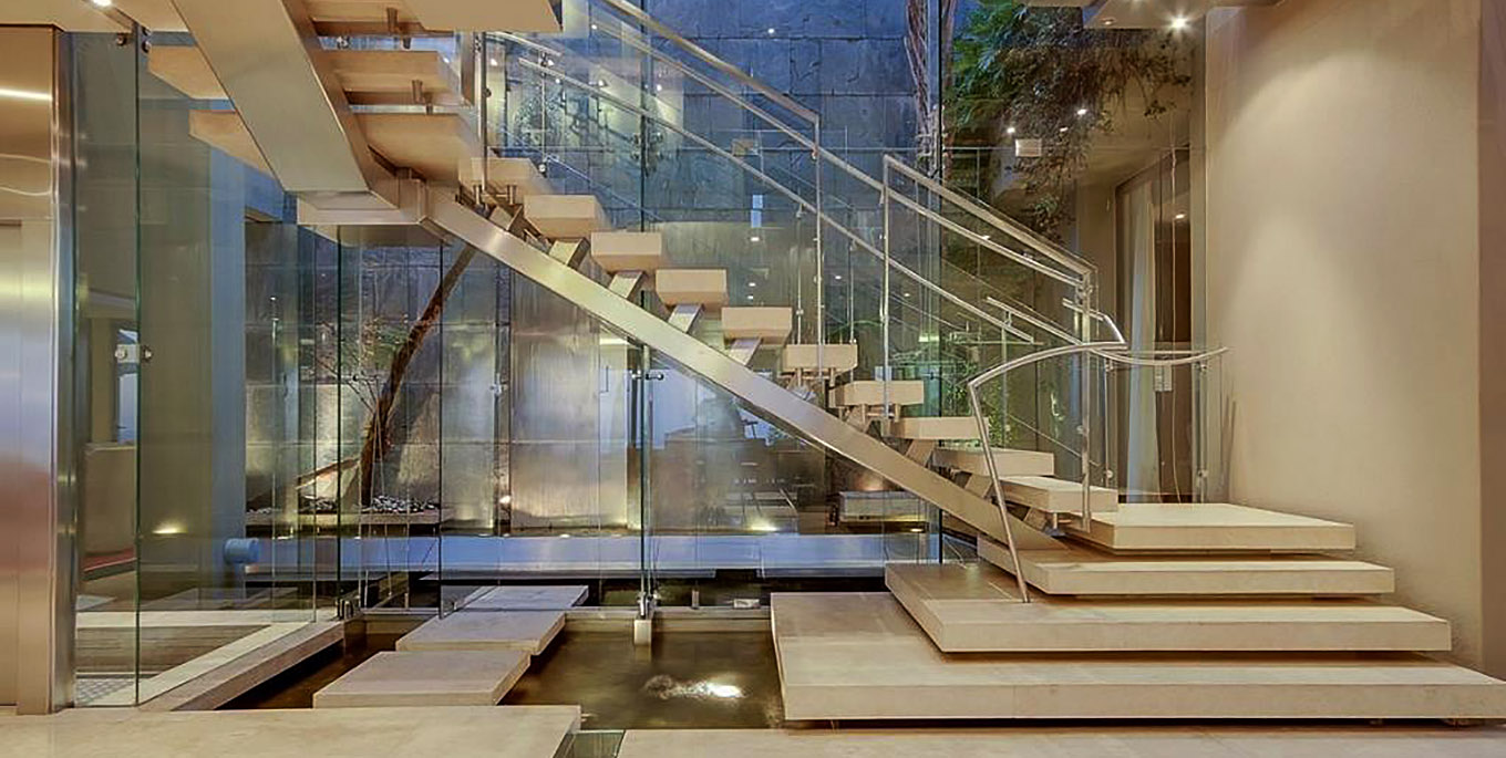 Moondance Villa Contemporary Stairs