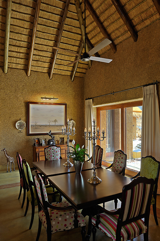 Camp Jabulani Zindoga Villa Dining Room