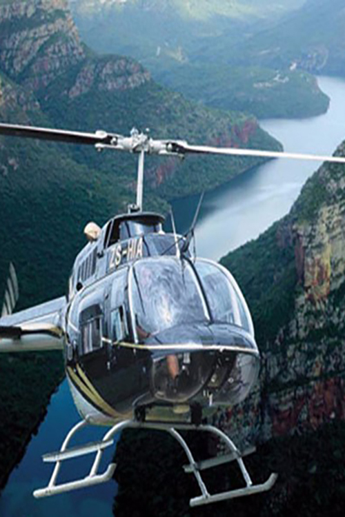 Camp Jabulani and Helicopter Rides