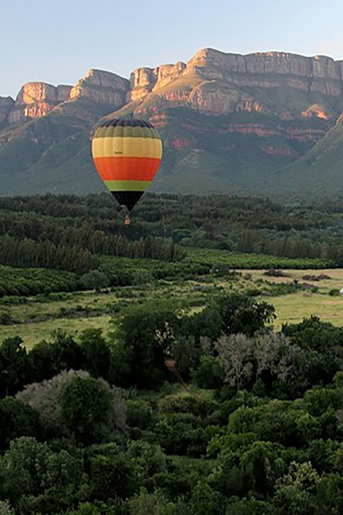 Camp Jabulani and Hot Air Ballooning